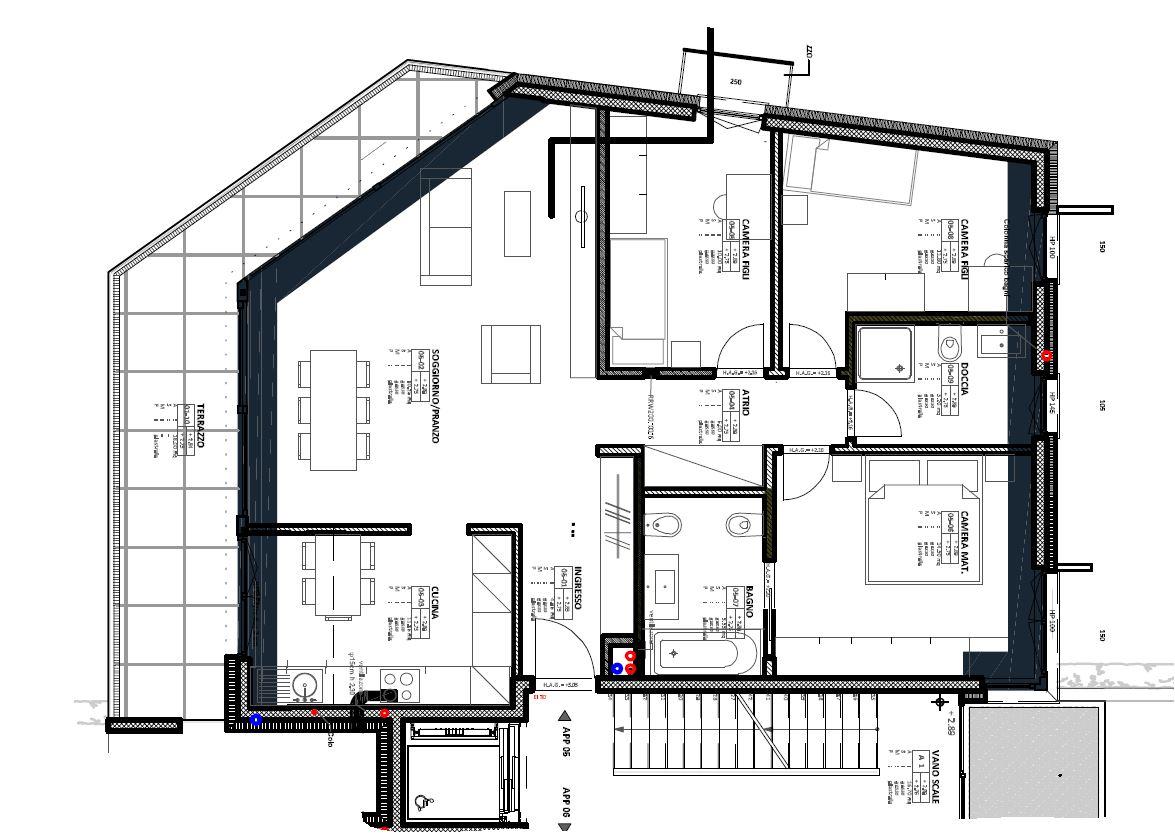 Canobbio: 4.5 loc. nuova costruzione